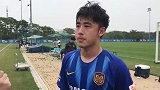 张凌峰:球队近来状态越来越好  进球属于运气好