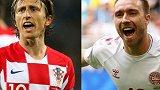 克罗地亚vs丹麦:近15年最强克罗地亚剑指世界杯8强