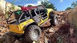 RC遥控车:正在攀爬的jeep牧马人