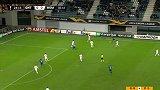 第25分钟根特球员乔纳森·大卫进球 根特1-0罗马