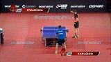 乒乓球-17年-国际乒联巡回赛:韩国公开赛 男子单打1/4决赛 弗朗西斯卡vs卡尔松-全场