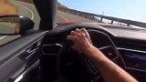 全新奥迪RS6跑山路