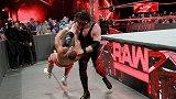 WWE-17年-RAW第1279期:单打赛杰森乔丹VS恶魔凯恩-单场