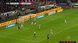 第15分钟法兰克福球员帕西恩西亚射门 - 被扑