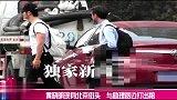 黄晓明现身北京街头 与助理路边打出租