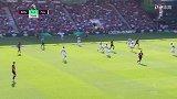 第73分钟伯恩茅斯球员威尔逊射门