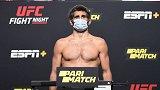 UFC格斗之夜174官方称重:主赛达里尤什超重两磅