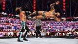RAW第1443期:单打赛 AJ斯泰尔斯VS里克赛