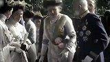 弗朗茨约瑟夫侄孙卡尔婚礼的珍贵录像,这个人也来到了现场
