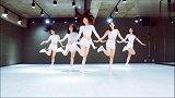 韩国NY美女 舞蹈模仿《LOVE WHISPER&ONE HALF》