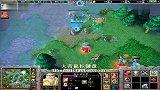 【大帝解说】魔兽争霸3 大帝HUM vs 德国人族 yAws SV 突然之间就3本 6流氓斗法