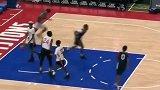 篮球-18年-太优秀!JR.NBA的小朋友实战演绎快攻胯下上篮-新闻