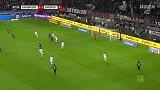 第88分钟法兰克福球员帕西恩西亚射门 - 被扑