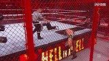 WWE-18年-2018地狱牢笼大赛:地狱牢笼赛 杰夫哈迪VS兰迪奥顿-单场