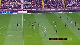 下半场补时第2分钟法兰克福球员帕西恩西亚黄牌