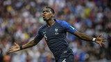 博格巴法国队10球:连续三届大赛进球 世界杯决赛逆足世界波