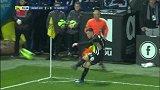 第71分钟昂热球员西奥布射门 - 被扑