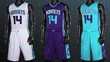 篮球-14年-神秘骚气的夏洛特黄蜂下赛季新队服出炉-新闻