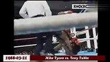 泰森VS塔布斯,泰森太猛啦,一拳打晕!