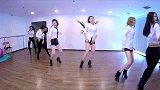 EC电竞女团舞蹈室练习Sistar《Shake It》