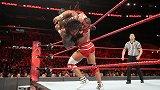 WWE-17年-RAW第1280期:洲际冠军赛罗门伦斯VS杰森乔丹-单场
