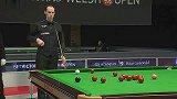 斯诺克-14年-威尔士公开赛第2轮:史蒂文斯vs伯恩斯-全场