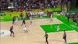 奥运会-16年-霸主地位依旧!美国男篮30分大胜塞尔维亚实现奥运三连冠-精华