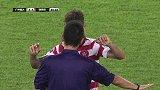 亚冠-14赛季-淘汰赛-1/4决赛-第2回合:69分钟犯规西悉尼萨巴推到郑智被裁判口头警告-花絮