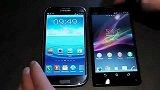 数码-索尼Xperia ZL vs 三星 Galaxy S3