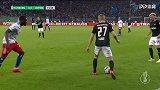 第72分钟RB莱比锡球员福斯贝里进球 汉堡1-3RB莱比锡