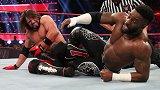 RAW第1375期:全美冠军赛 AJ斯泰尔斯VS亚历山大