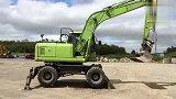 小松 GALEO PW160 7 16吨轮呔式挖土机