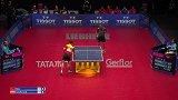 世乒赛男团1/4决赛 马龙3-2加尔多斯