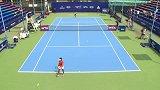 WTA-14年-广州国际女子公开赛半决赛:王雅繁0:2尼古莱斯库-全场