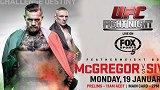 UFC格斗之夜59:康纳VS丹尼斯-锡弗