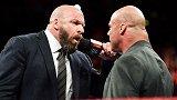 WWE-17年-RAW第1277期:重磅!乔丹受伤另安格陷两难 HHH亲自宣布替其出战-花絮