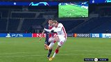 上半场补时第1分钟RB莱比锡球员福斯贝里射门 - 打偏