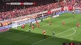 第22分钟沃尔夫斯堡球员约翰·布鲁克斯射门 - 打偏