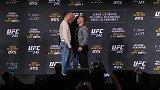 UFC 245选手对视