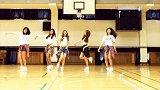 韩国小姐姐 U.N.I.Q 篮球场舞蹈模仿 EXID《Ah Yeah》