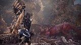 索尼PGW游戏展《怪物猎人:世界》游戏预告,联动《地平线:黎明时分》