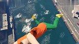GTA5这是玩什么失败搞笑的作死游戏