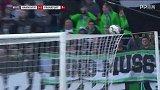 第87分钟法兰克福球员帕西恩西亚射门