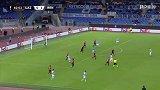 第63分钟拉齐奥球员米林科维奇·萨维奇进球 拉齐奥1-1雷恩