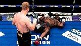 2020年拳坛十大KO:战斗民族强人一拳KO反杀对手