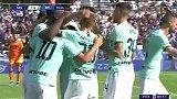 第71分钟国际米兰球员劳塔罗·马丁内斯点球进球 萨索洛1-4国际米兰