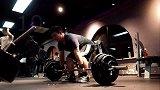 硬拉挑战145kg