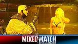 WWE-18年-混合双打挑战赛第四周:金粉人&罗斯VS吉米乌索&娜欧米-单场
