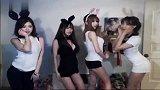 韩国BJ果实_BJ索_BJ阿英_在敏__700天_(4人兔子跳舞_)