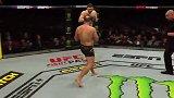 UFC奥克兰站主赛选手终结时刻:穆斯塔法耶夫神龙摆尾KO